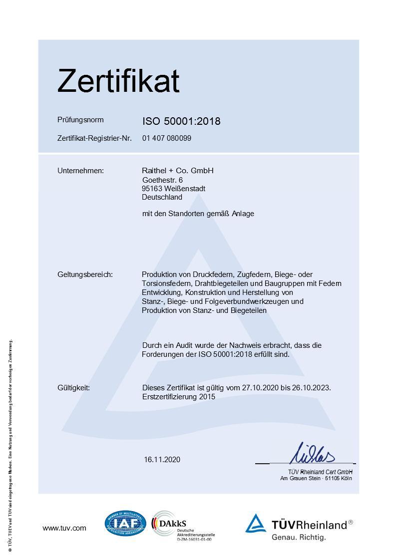 DIN EN ISO 50001